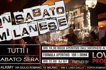 Alkimy Milano sabato 27 Luglio 2019