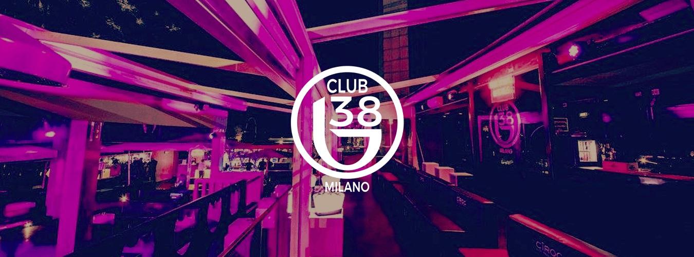 B38 Club Milano doemnica 13 Maggio 2018