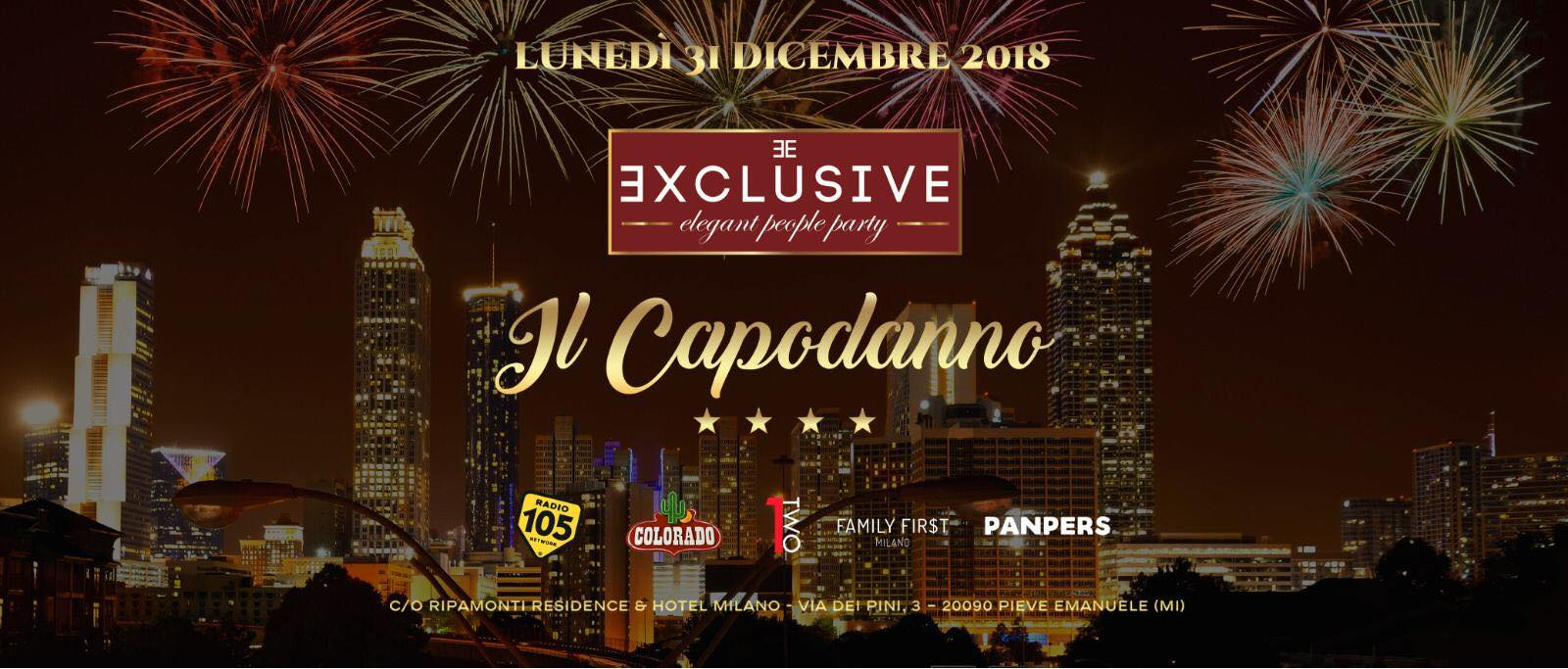 Capodanno Hotel Ripamonti 2019
