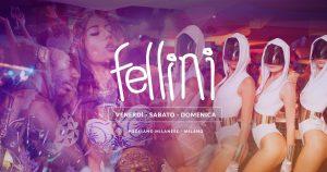 Fellini Pogliano Milanese sabato 15 Dicembre 2018 – Lista Suite
