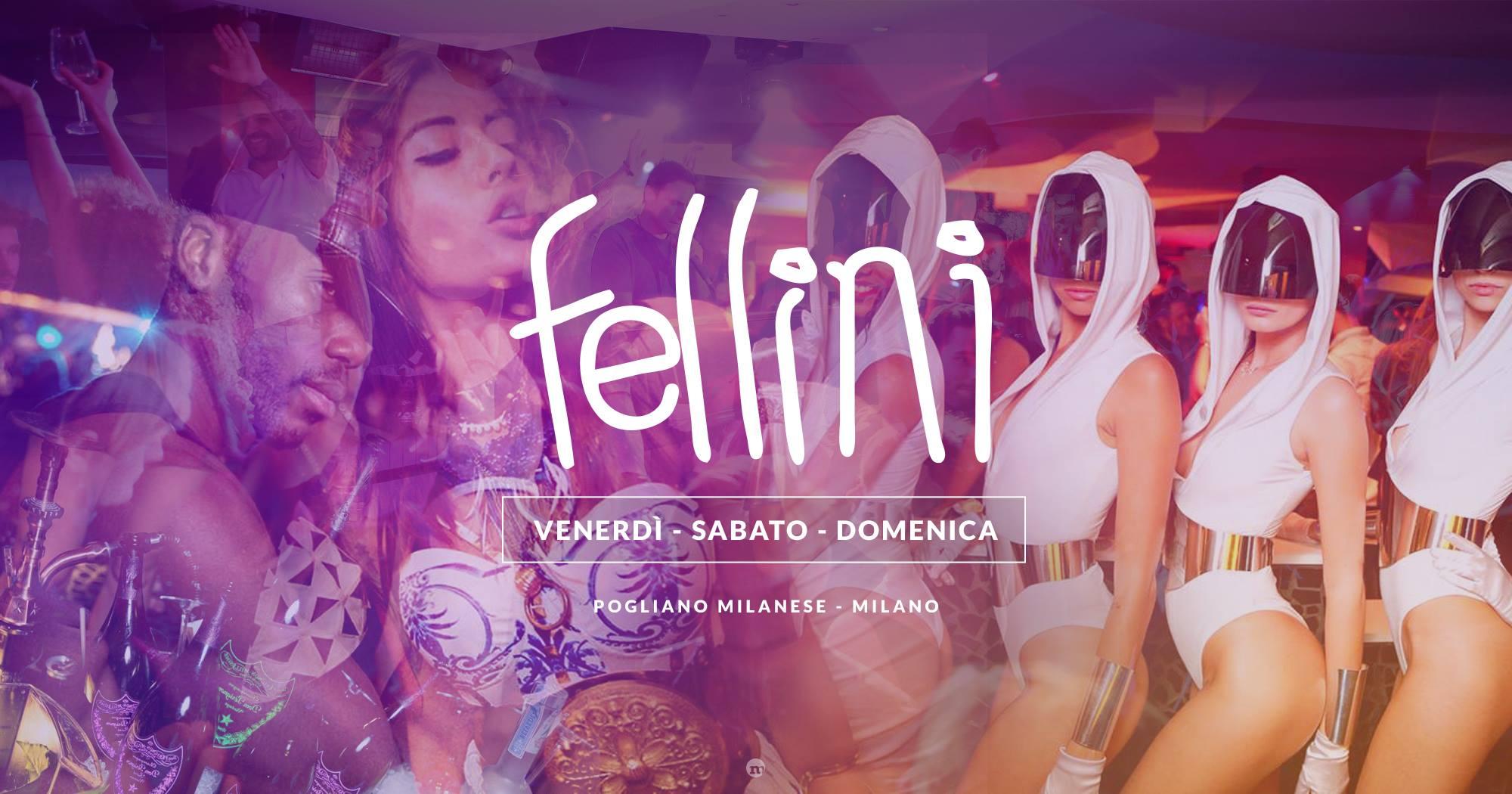 Fellini Pogliano Milanese sabato 20 Ottobre 2018