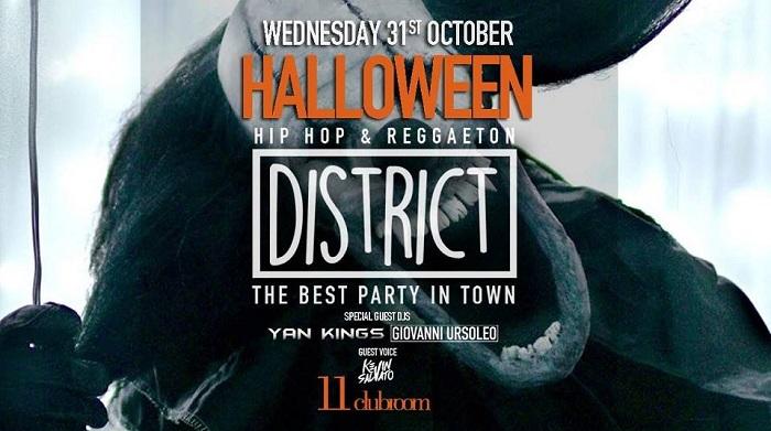 Halloween 11clubroom Milano mercoledì 31 Ottobre 2018