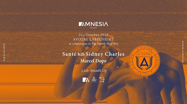 Halloween Amnesia Milano mercoledì 31 Ottobre 2018