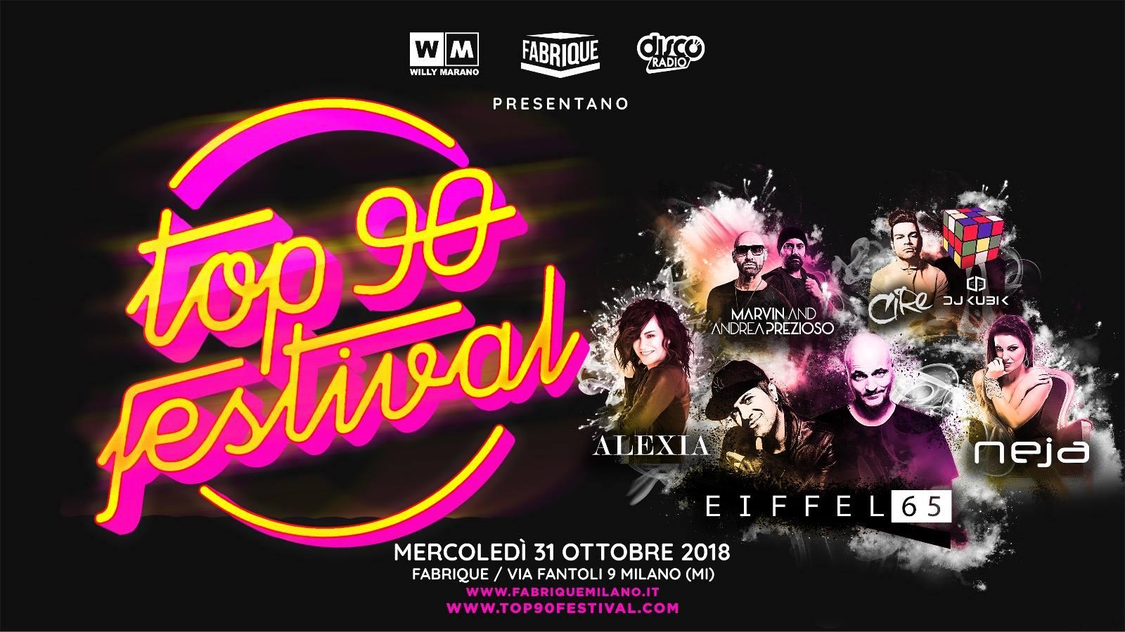 Halloween Fabrique Milano mercoledì 31 Ottobre 2018