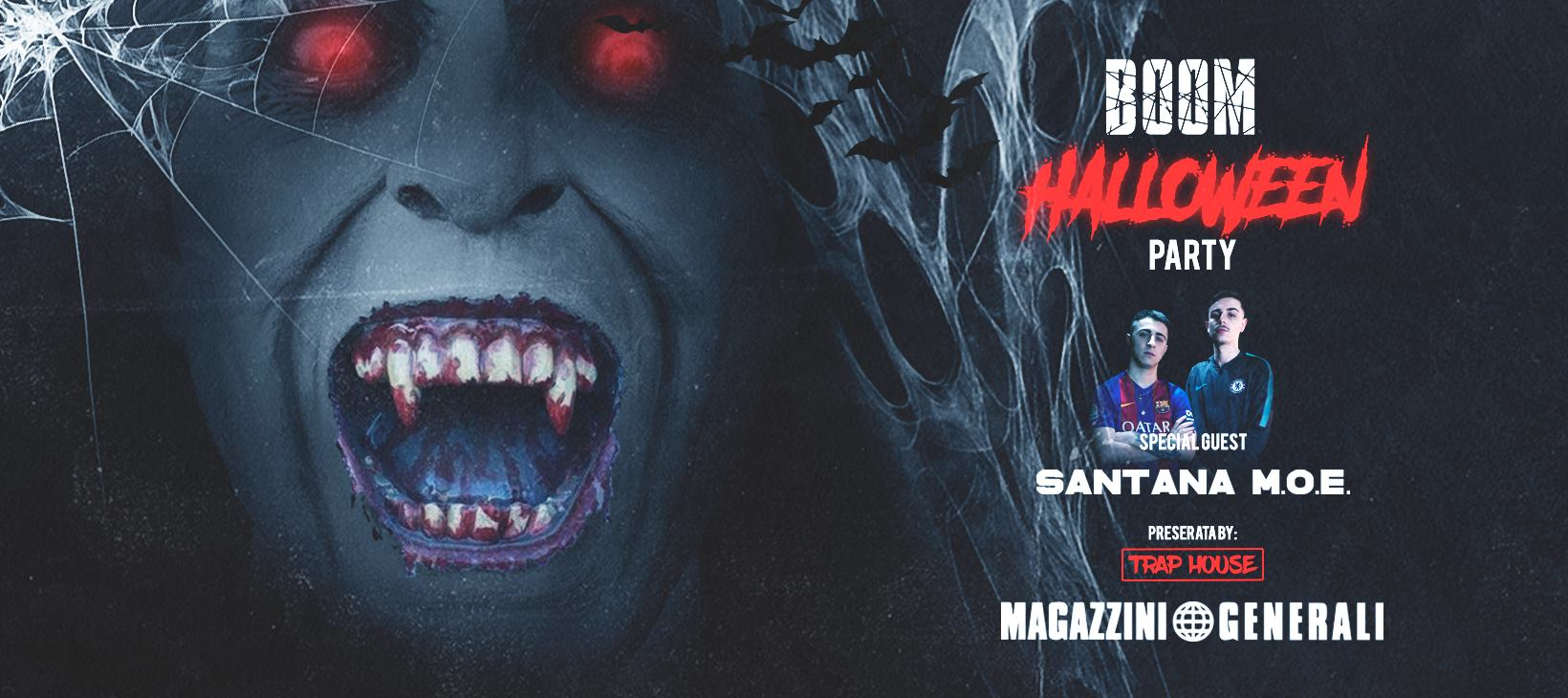 Halloween Magazzini Generali Milano mercoledì 31 Ottobre 2018