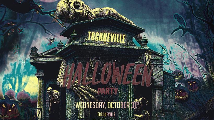 Halloween Tocqueville Milano mercoledì 31 Ottobre 2018