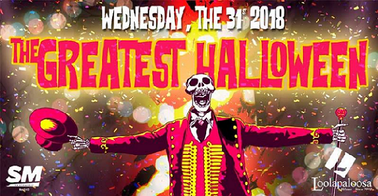 Halloween Loolapaloosa Milano mercoledì 31 Ottobre 2018