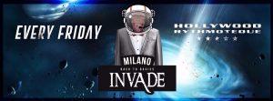 Hollywood Milano venerdì 20 Luglio 2018 – Lista Suite