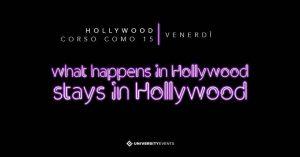 Hollywood Milano venerdì 26 Aprile 2019 – Lista Suite
