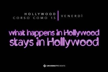Hollywood Milano venerdì 26 Aprile 2019