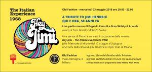 Old fashion Milano mercoledì 23 Maggio 2018 – Lista Suite