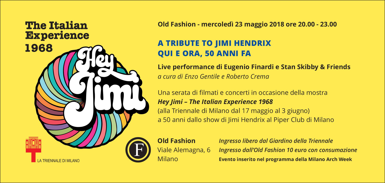 Old fashion Milano mercoledì 23 maggio 2018