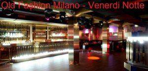Old Fashion Milano venerdì 19 Ottobre 2018 – Lista Suite
