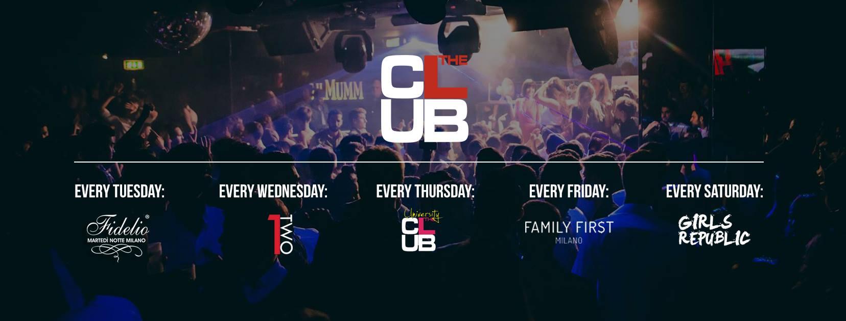 The Club Milano domenica 21 Ottobre 2018