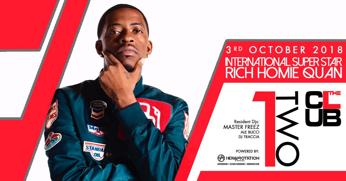 The Club Milano mercoledì 3 Ottobre 2018