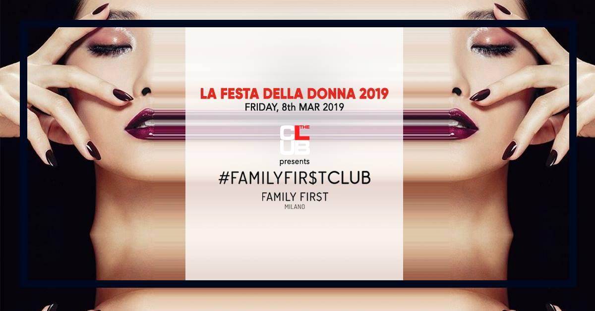 The Club Milano festa della donna